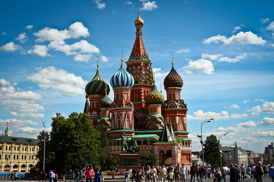 Photograph St. Basil's Cathedral by Sergei Nosachev on 500px