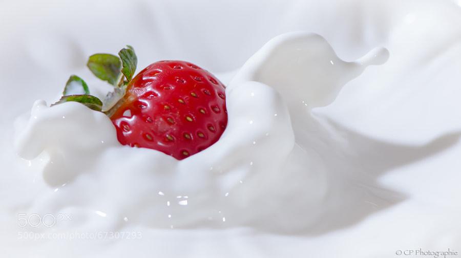 Fraise à la crème