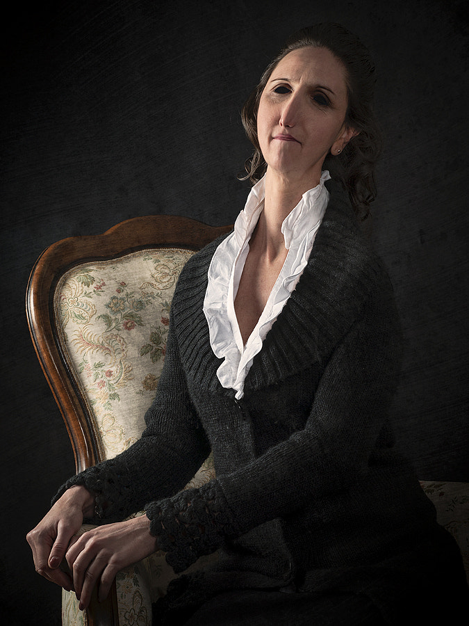 Portrait of Lady Sitting
