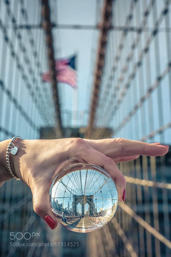 Photograph brooklyn.bridge.two by Robert Pfeuffer on 500px