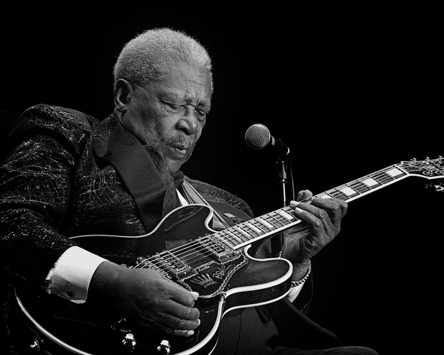 Photograph BB King by Tony Holmes on 500px