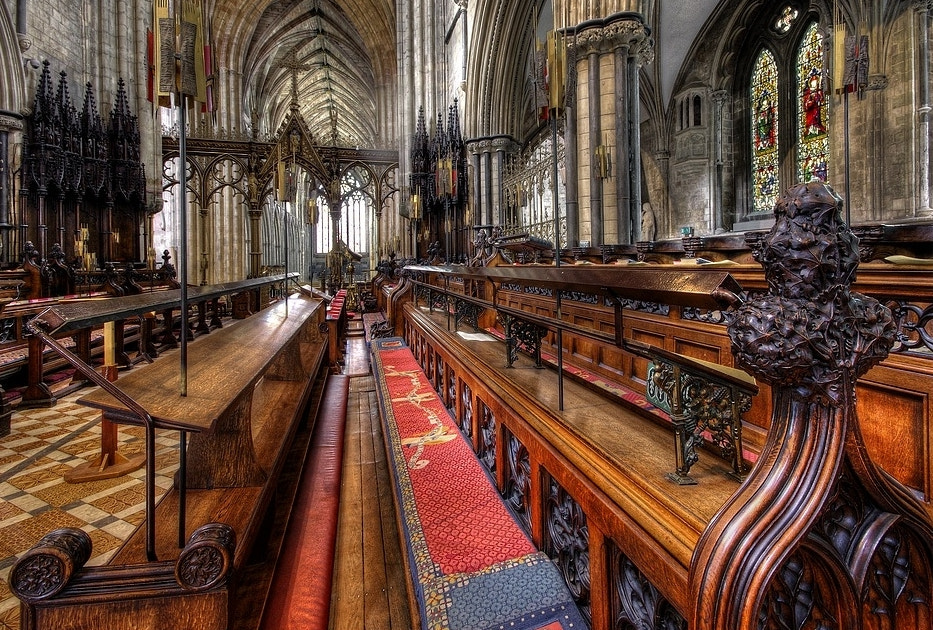 Photograph Pews by Rog Brown on 500px