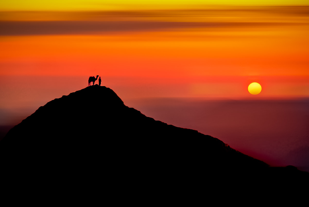 Photograph The Nomad's sunset. by mojaa neddo on 500px