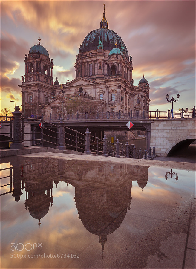 Photograph Berlin Cathedral Mirror by Matthias Makarinus on 500px