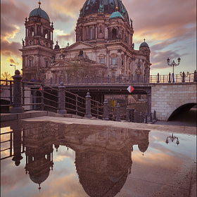 Berlin Cathedral Mirror by Matthias Makarinus (Matthias)) on 500px.com