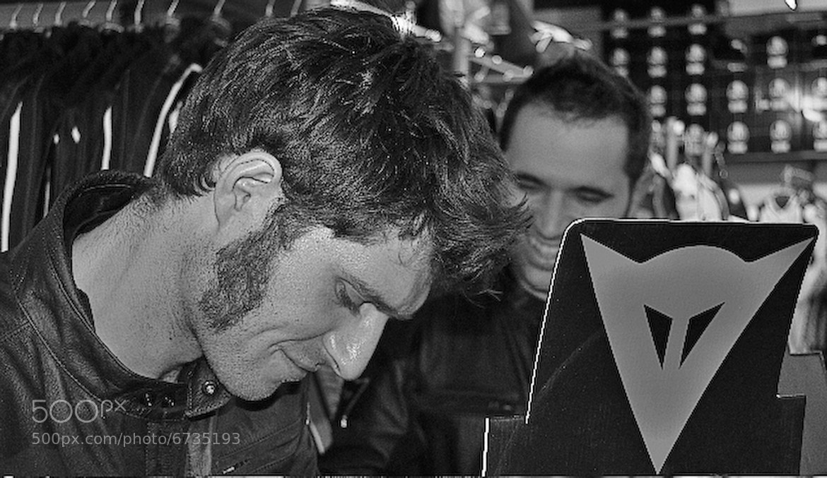 Photograph guy martin for dainese by Marc Melander on 500px