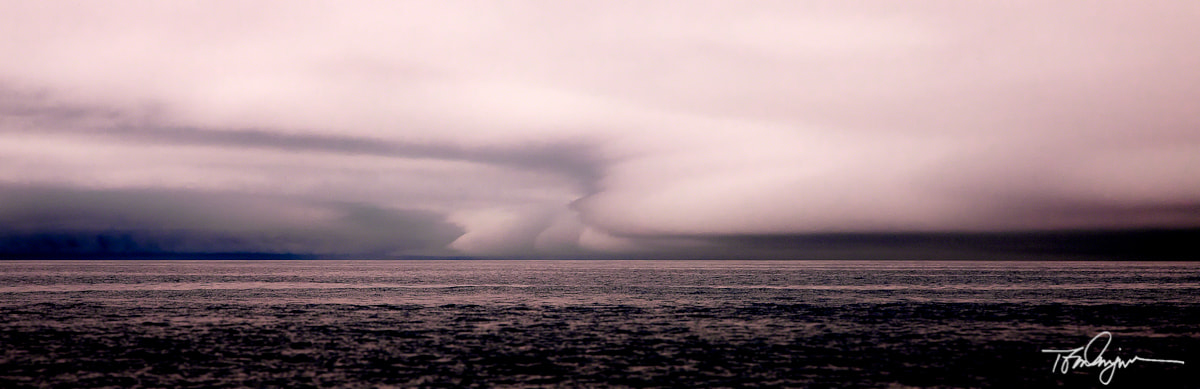Photograph Storm Closes in on Golfo De Corcovado by Tom Dingman on 500px