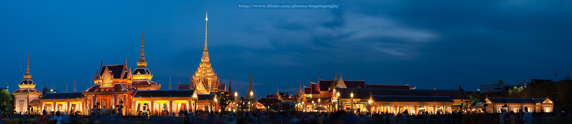 Photograph Royal Crematory in Thailand (Panorama)  by Vorravut Thanareukchai on 500px