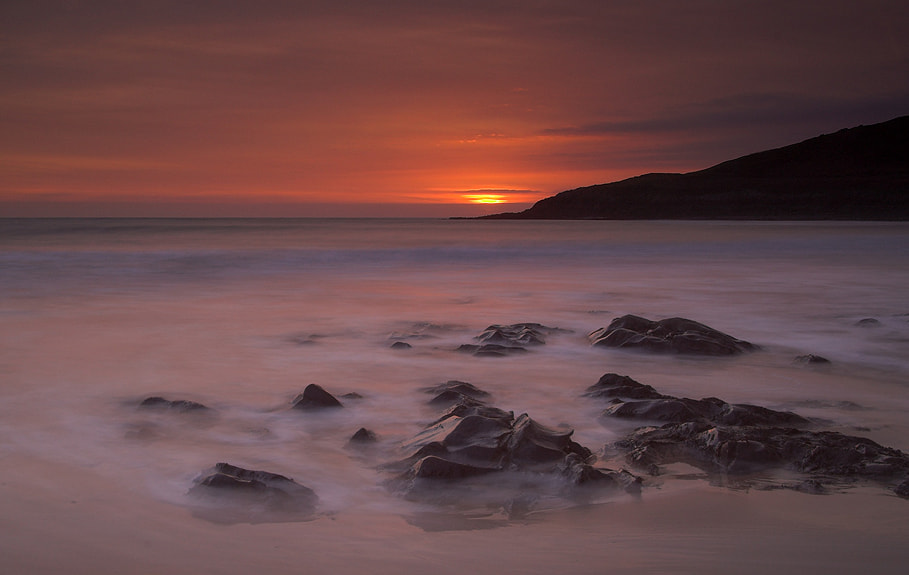 Photograph Langland Sunset by Geoffrey Baker on 500px