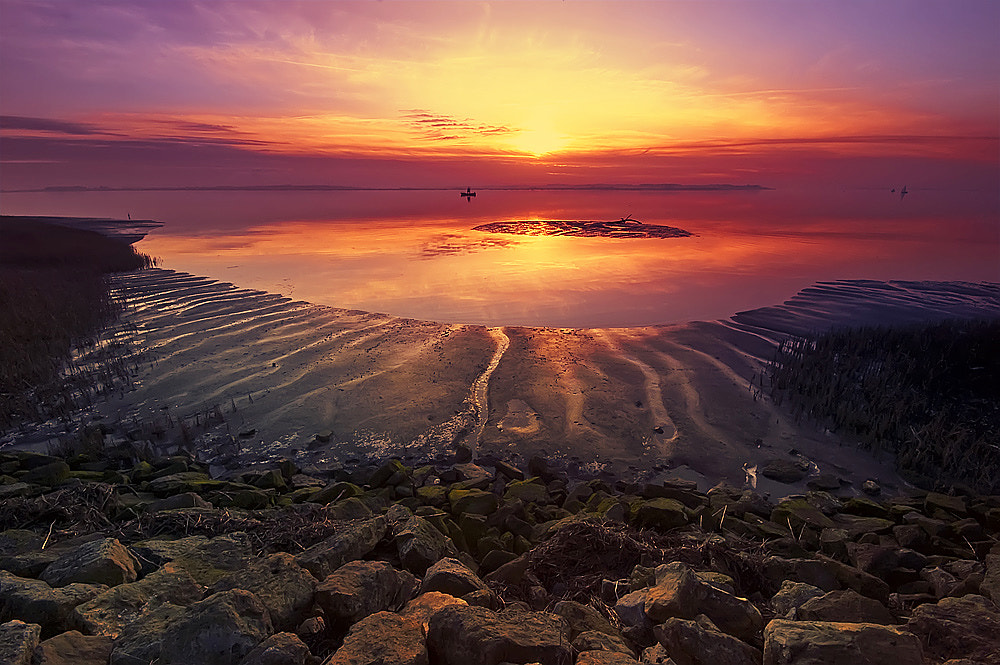 Photograph Humber sunset by Neil Cherry on 500px