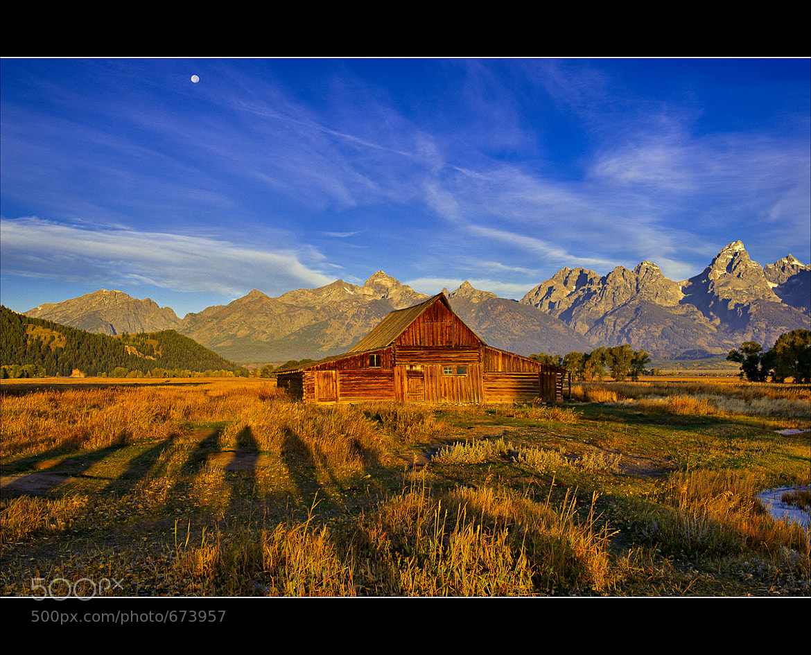 Photograph Moulton Barn Human Shadows by Wil Bloodworth on 500px
