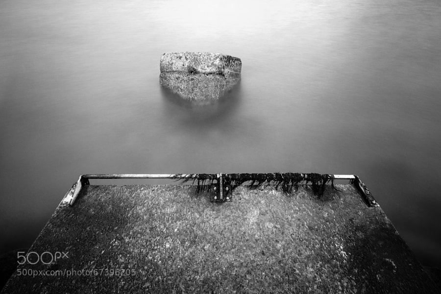 Photograph B&W Rock by David Gorriez on 500px