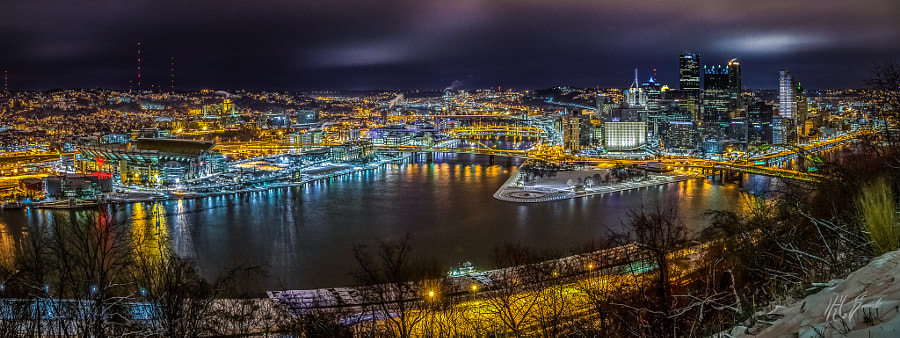 Pittsburgh, -12 °C