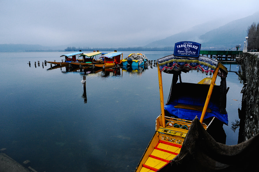 Shikara at Dal Lake, Srinagar Kashmir by Mohamad Hilmi Osman on 500px.com
