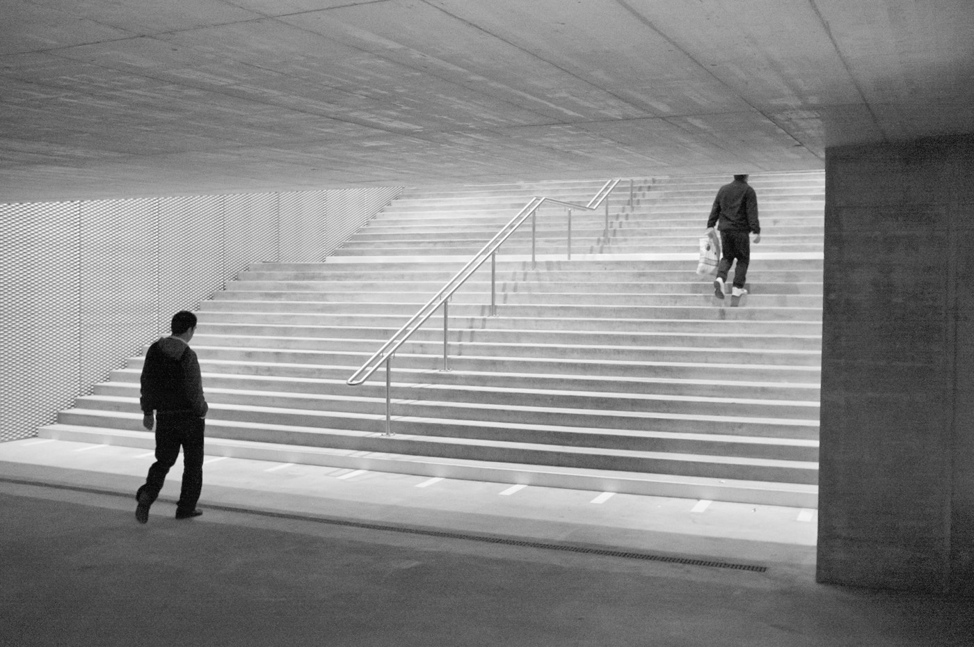 Photograph two men on stairs by Emanuel Ganz on 500px