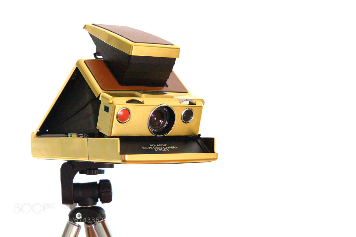 Photograph Gold Polaroid SX-70 Land Camera  by Sam Cornwell on 500px