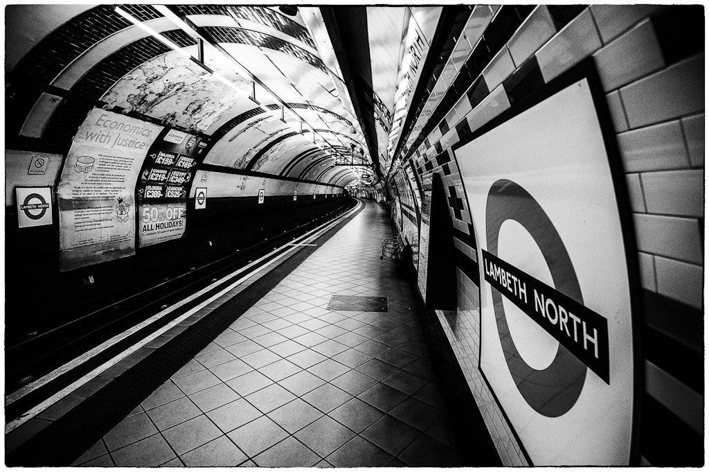 Photograph Lambeth North by Richard Reader on 500px