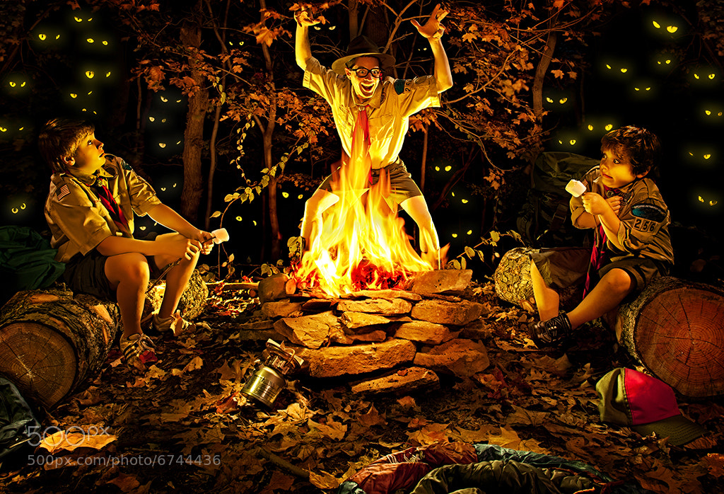 Photograph Campfire Stories by Brian Kaldorf on 500px