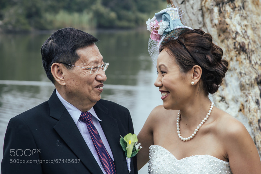 Photograph Wedding Daughter and Father by Joshua Cowan on 500px