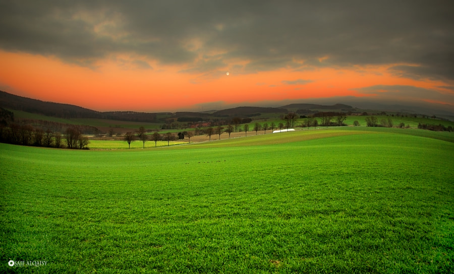 The plains of Germany by saif Al qaisi on 500px