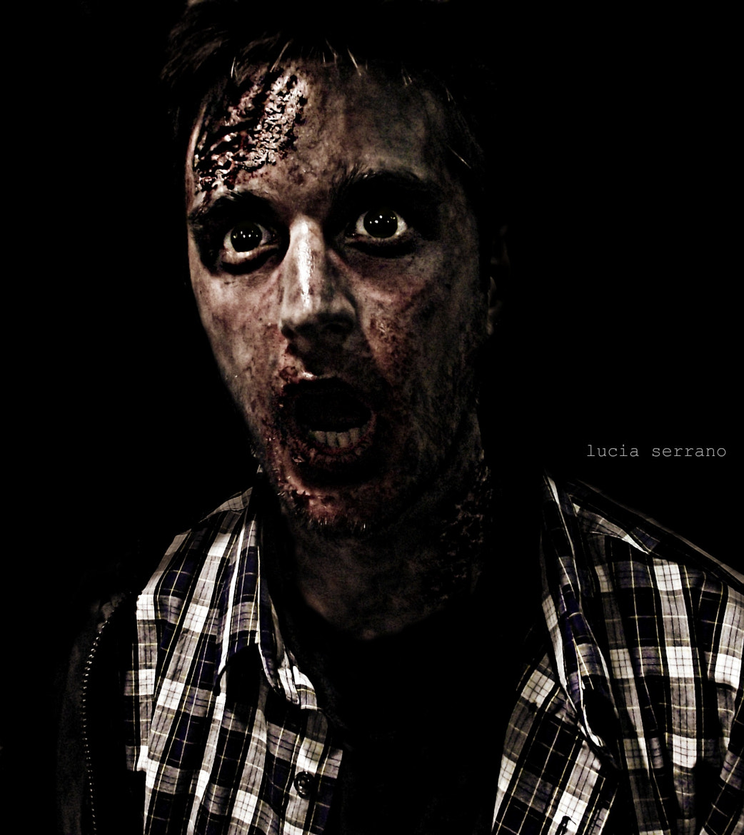 Photograph Zombie by Lucia Serrano on 500px