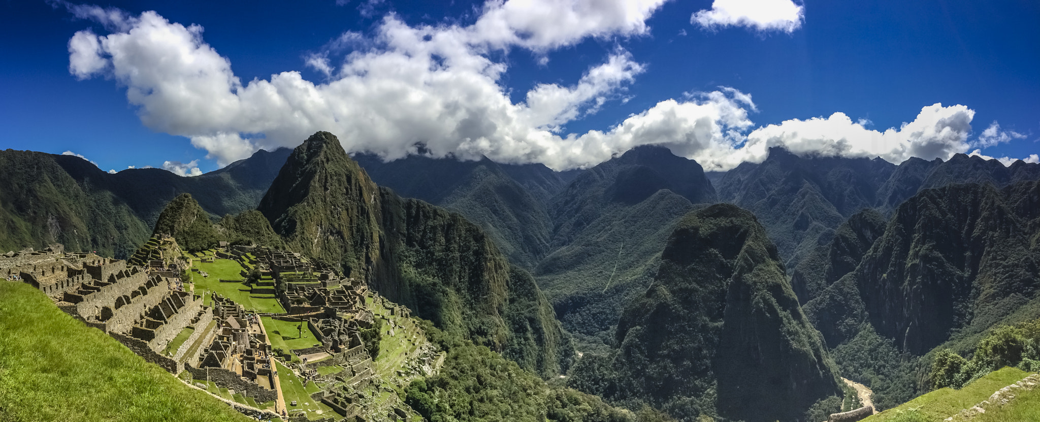 Panorama of the Lost City of Incas