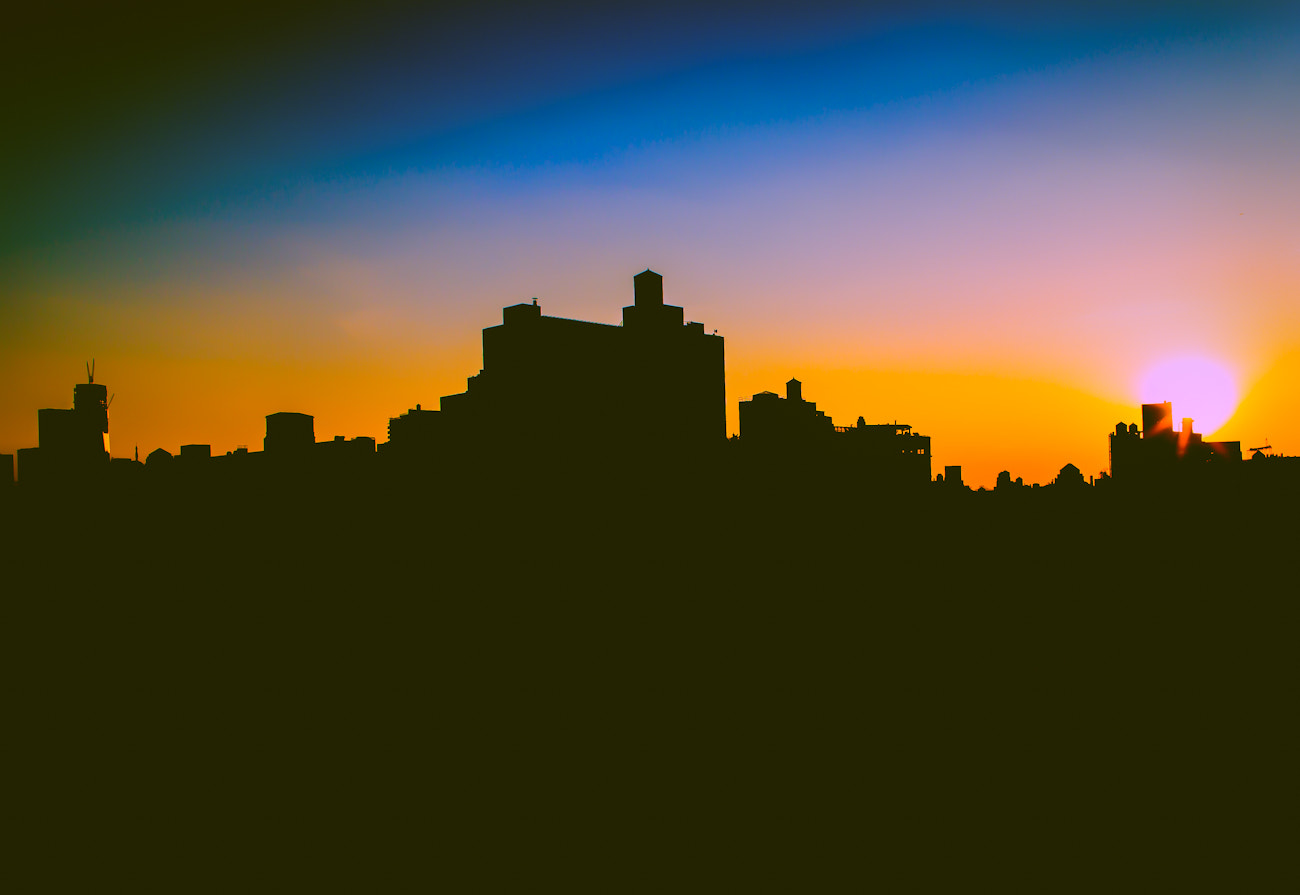 Photograph NYC Silloute by The Tech Block on 500px