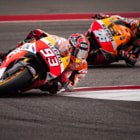 Постер, плакат: Marc Marquez and Dani Pedrosa