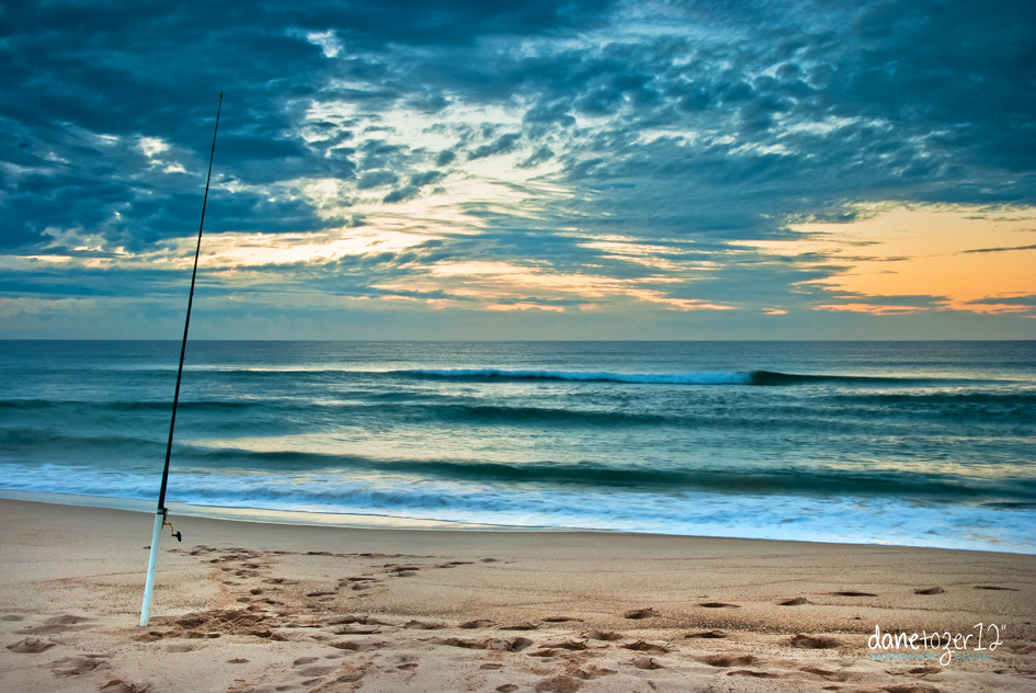 Photograph Lonely Fishing Rod by Dane Tozer on 500px