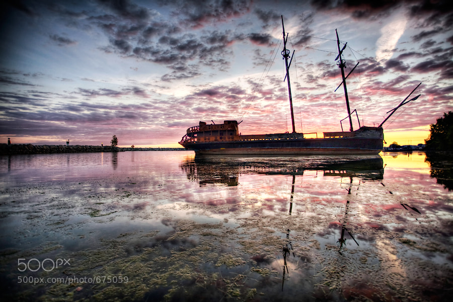 Taken at Jordan's Point, St. Catharines, Ontario,  HDR of 5 photographs
