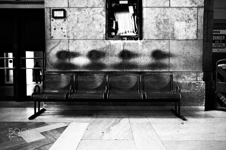 Taken at Union Station in Toronto
