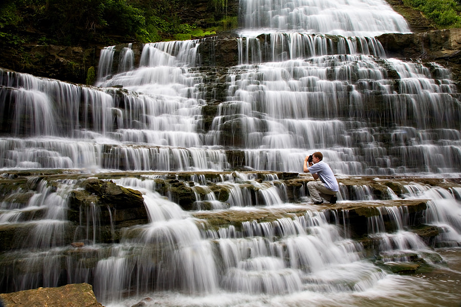Taken at Albion Falls, Hamilton, Ontario in 2008