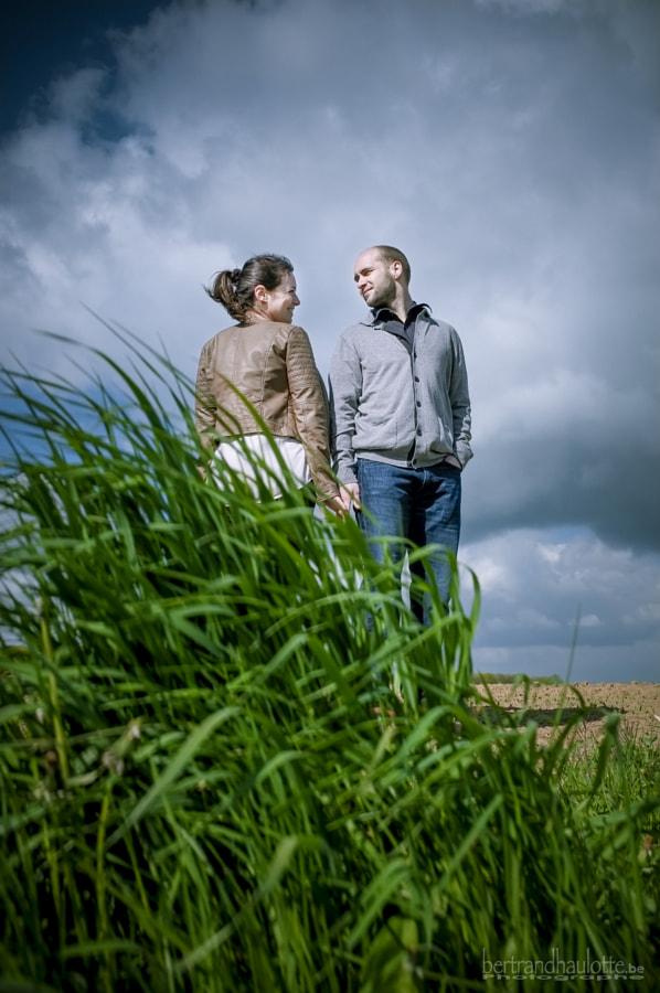 Engagement :: C&J by Bertrand Haulotte on 500px.com