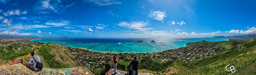 Photograph Top of Pillbox Hiking Trail Lanikai by Christopher Boyd on 500px