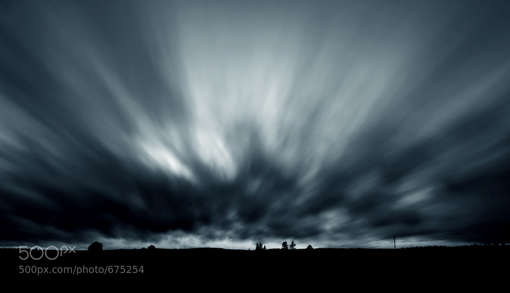 Photograph Sky In Motion by Joni Niemelä on 500px