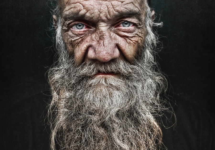 Photograph John. by Lee Jeffries on 500px