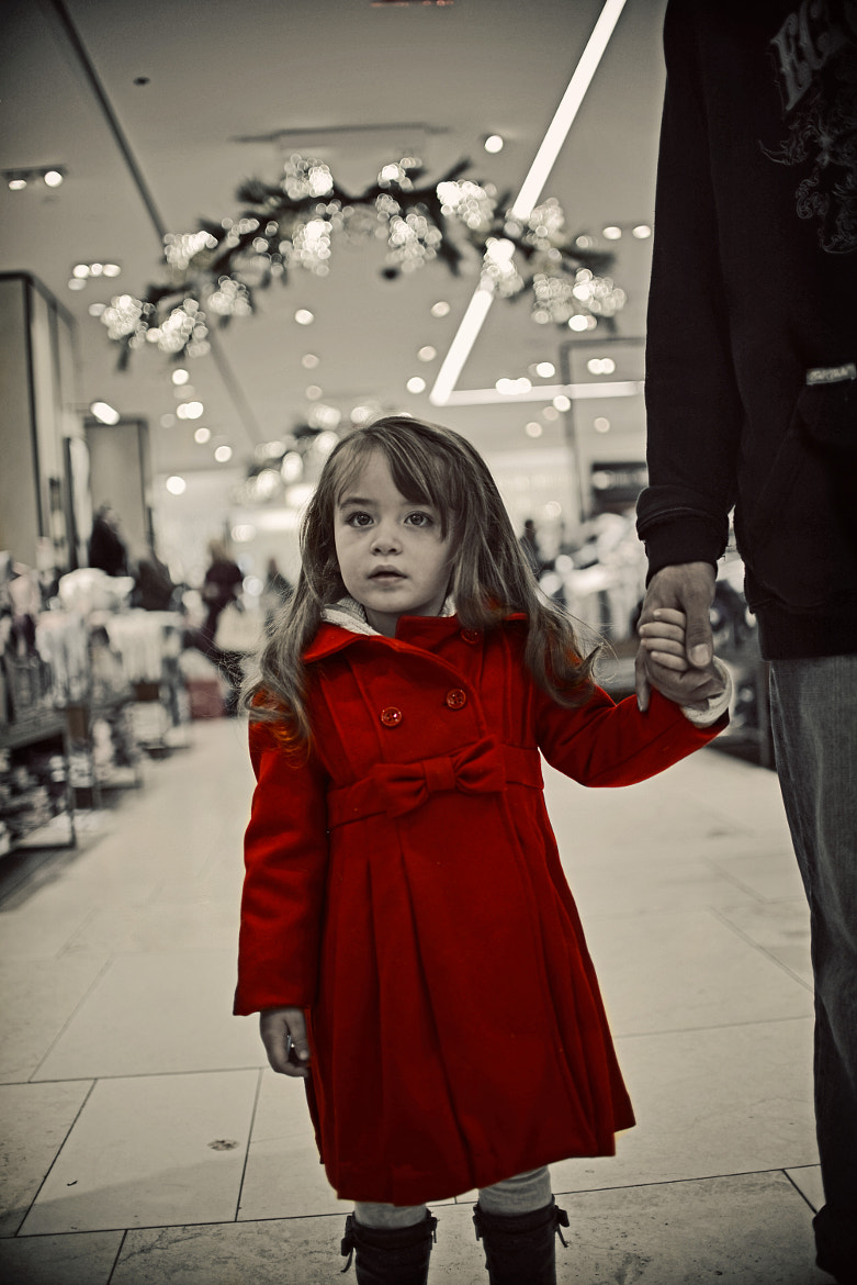 Photograph The Girl in Red by Cody Sanfilippo on 500px