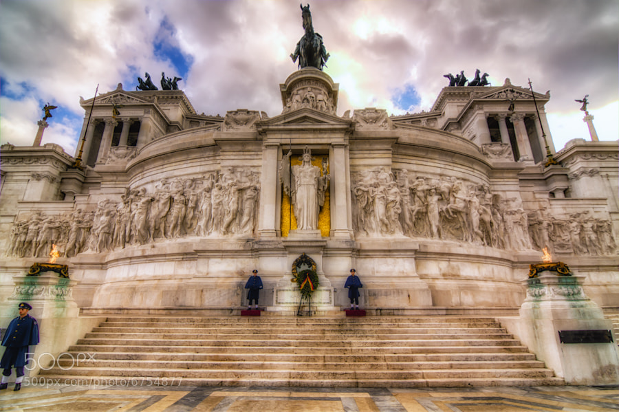 Photograph Italy's Tomb of the Unknown Soldier by David Edenfield on 500px