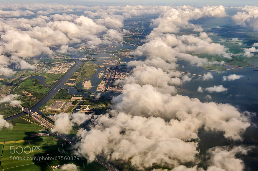 Photograph Nederland from the Sky by Csilla Zelko on 500px