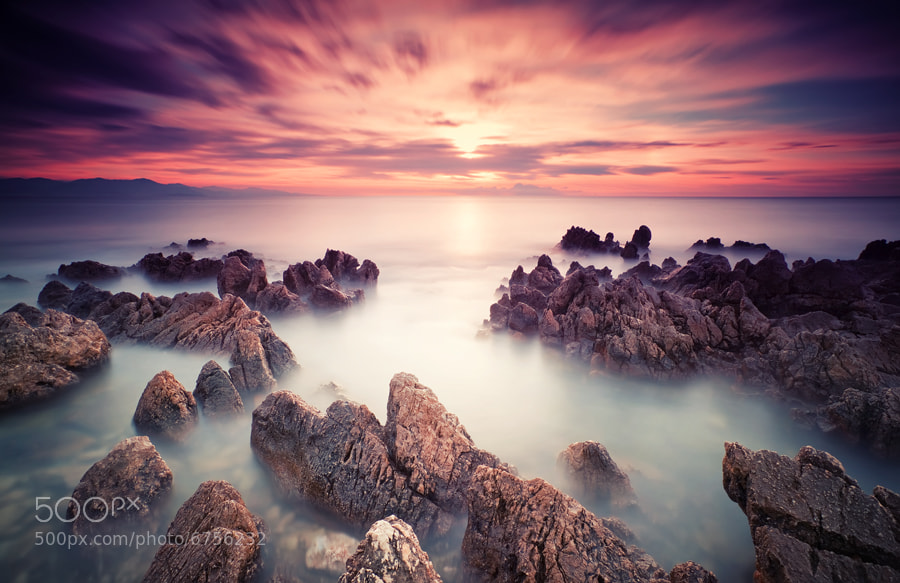 Photograph Cap d'Antibes (French Riviera) by Eric Rousset on 500px