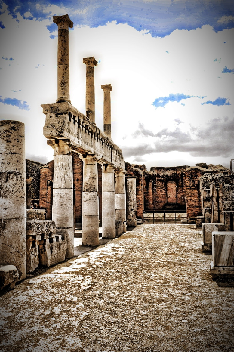 Photograph Pompei in the Spring by Mark Singleton on 500px