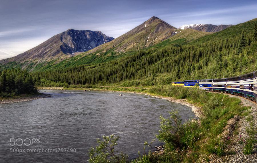 Photograph All Aborad the Alaskan Rail by Len Saltiel on 500px