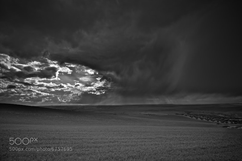 Photograph Storm on the horizon by Ismael Salmerón on 500px