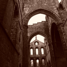 Kirkstall Abbey, Leeds by Artemis Barkhin (Artemis89)) on 500px.com