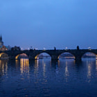 Постер, плакат: Night Charles Bridge