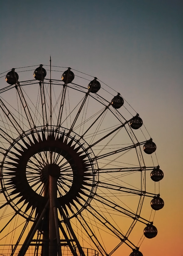 Photograph Ferris Wheel by Young Wook Woo on 500px