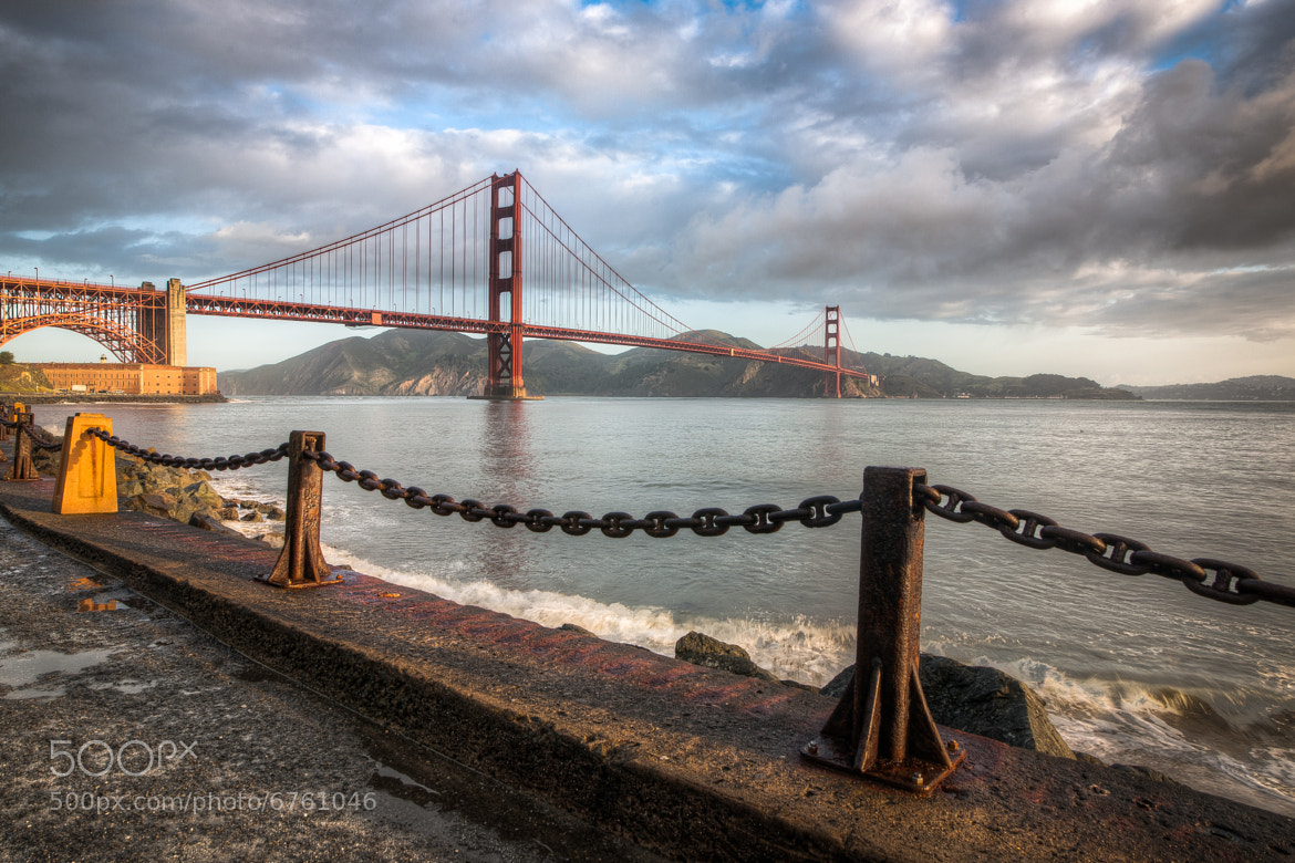 Photograph The Golden Gate by Bill Church on 500px
