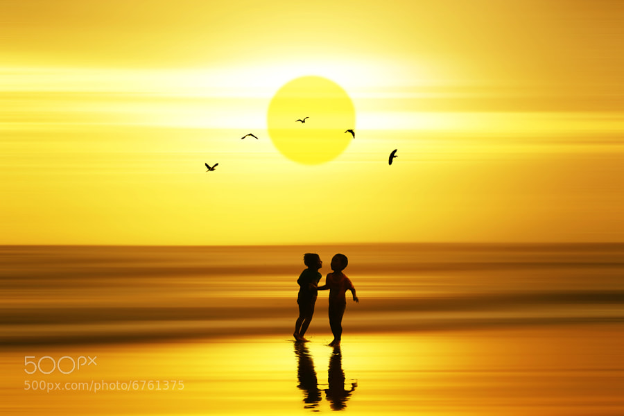 Photograph sunset dance by 3 Joko on 500px