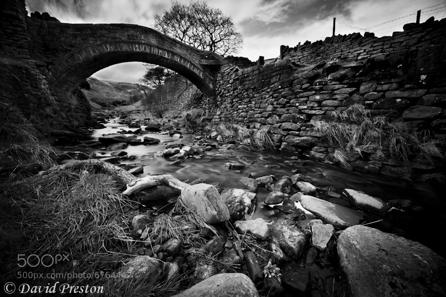 Photograph Pack horse bridge by David Preston on 500px