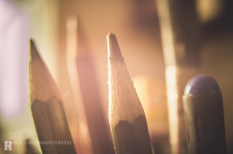 Photograph Pencils by Felipe Nobre on 500px